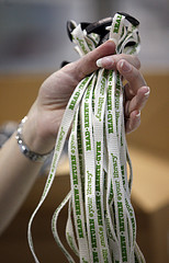 Lanyards - photo courtesy of flickr &  The American Library Association