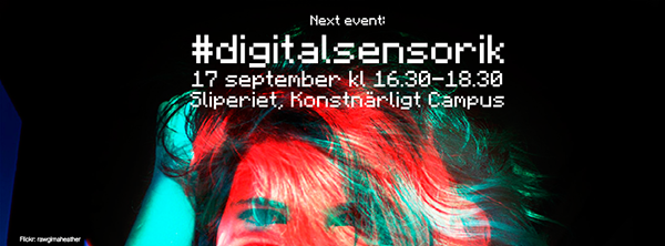 Nytt event #digitalsensorik 17 september